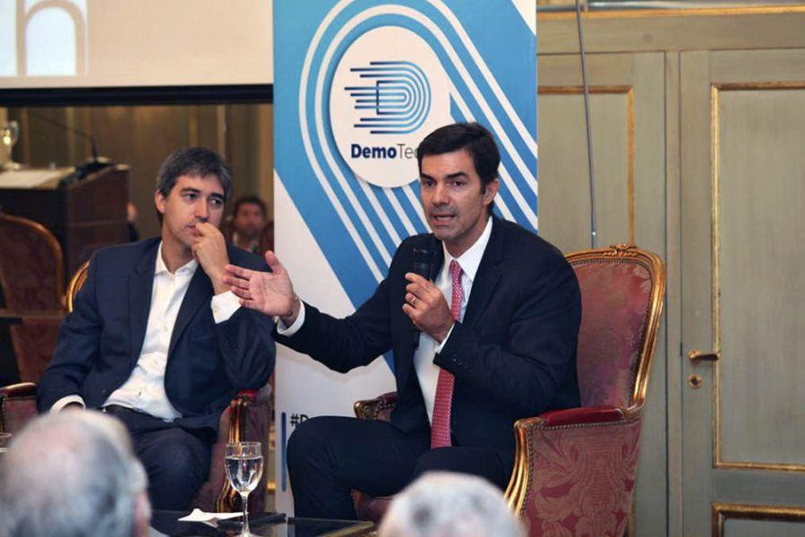 El gobernador Urtubey expuso sobre el sistema con boleta única electrónica, en una Jornada Internacional sobre integridad electoral.