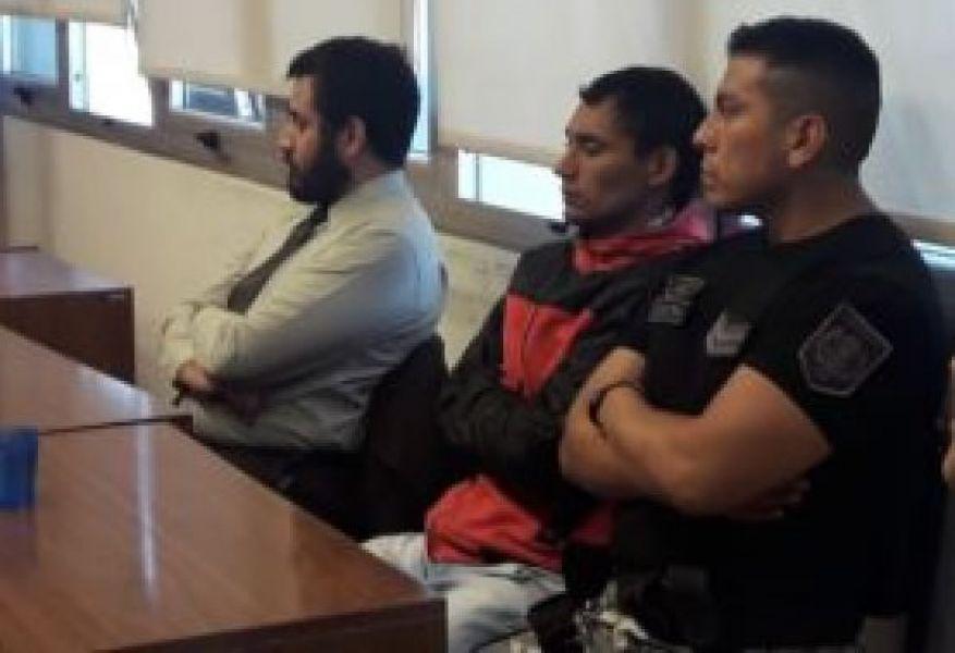 José Alberto Peralta al momento de escuchar la sentencia.