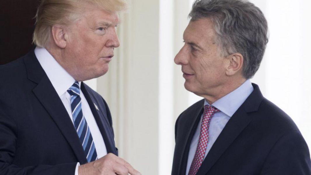 Macri habló con Trump por el aumento de los aranceles de EE.UU. a la importación de aluminio y acero.
