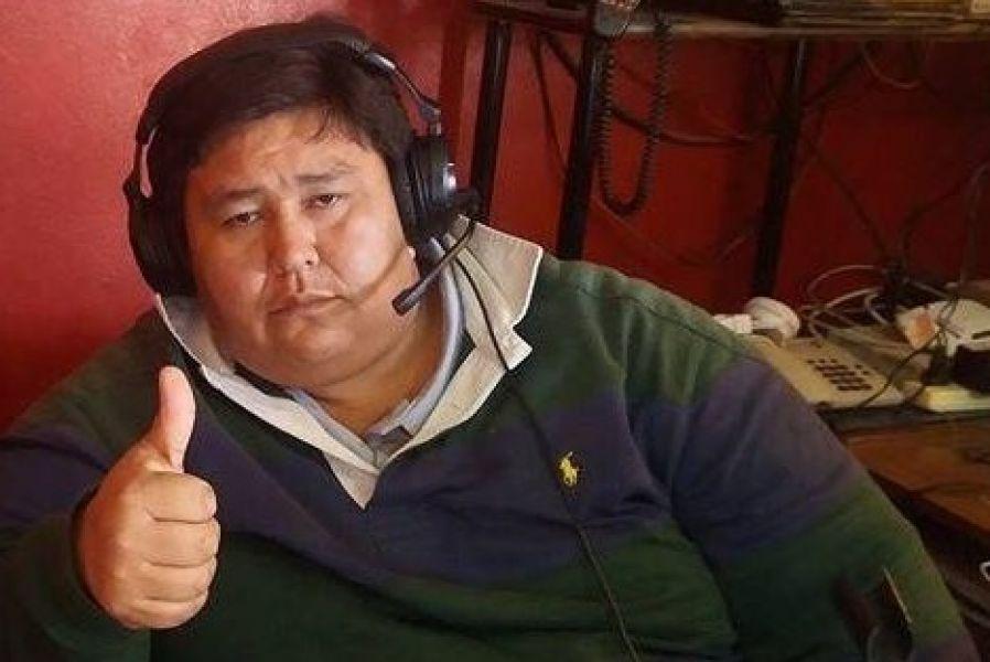 El periodista Brian Salazar, ahora trabaja en un medio de la localidad de Morillo.