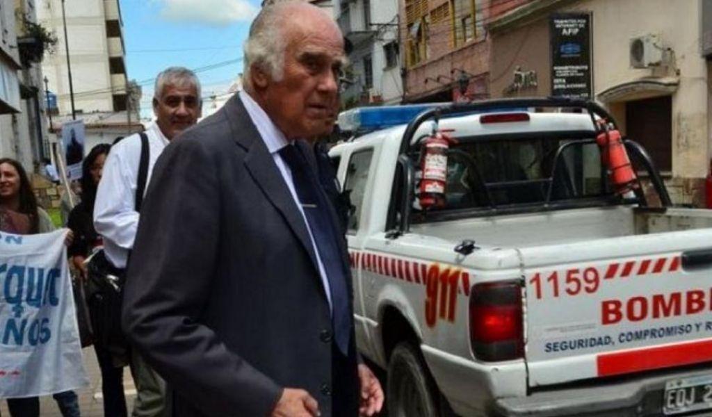 El ex juez Ricardo Lona que ejerció durante la última dictadura militar, en Tribunales.