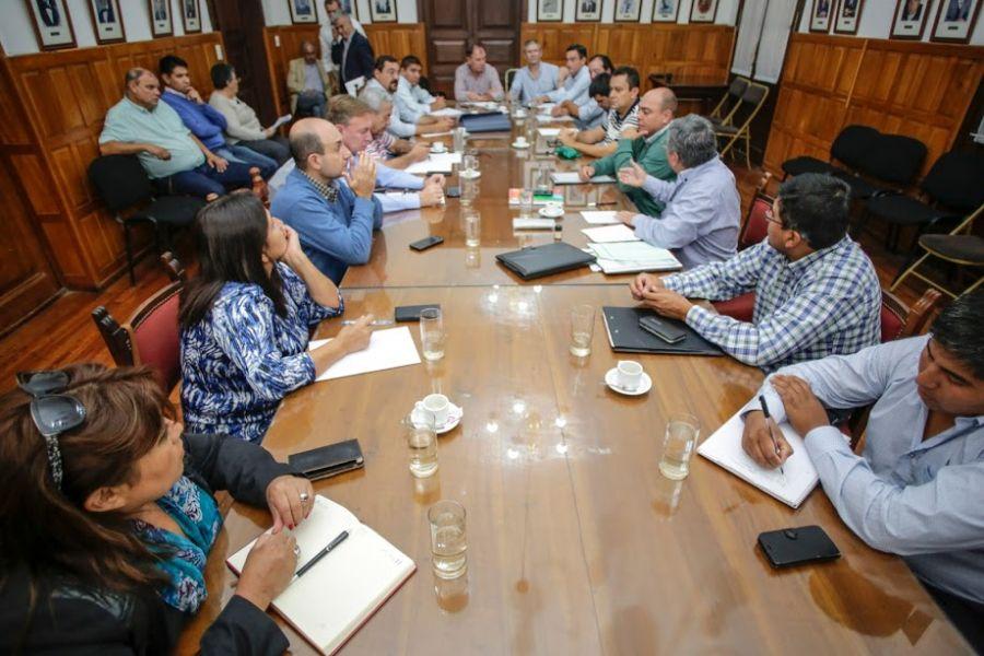 Reunión del bloque del PJ de la Cámara de Diputados, donde se delineó la agenda de acciones políticas y parlamentaria.