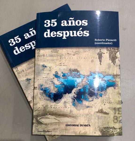 """El libro """"35 años después"""", se presentará el viernes a las 10 horas en la Casa de la Cultura, Caseros 460."""