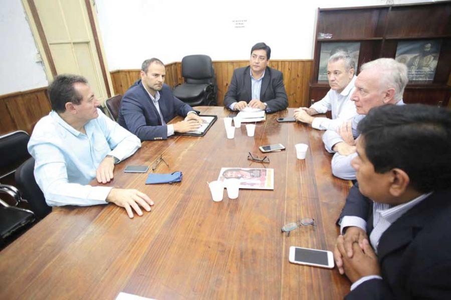 Reunión, en la que se conformó la citada comisión bicameral.