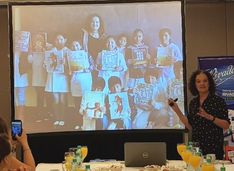 La especialista autora de varios libros sobre bullying y ciberbullying, María Zysman viene a Salta para un ciclo de charlas.