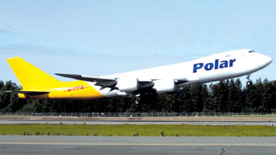 Los aviones de Polar son de gran porte.
