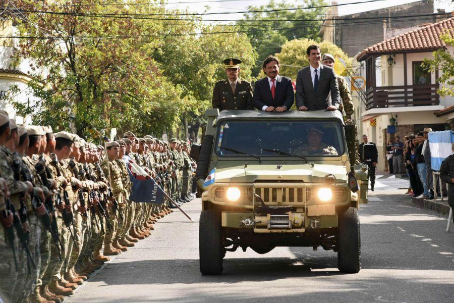 Los actos oficiales por el aniversario de la Fundación de Salta tuvo la participación del Gobernador Urtubey y el intendente Sáenz.