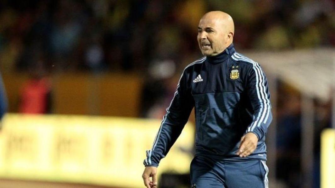 Jorge Sampaoli y la selección en la recta final a Rusia.
