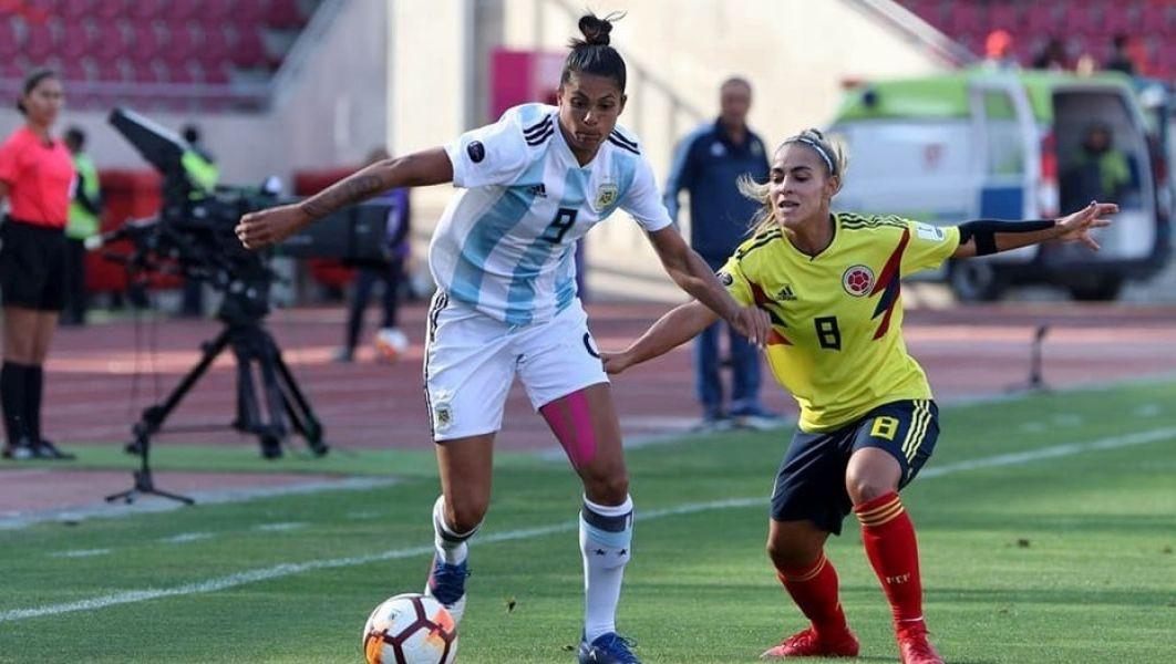 Soledad Jaimes, autora del segundo gol argentino.