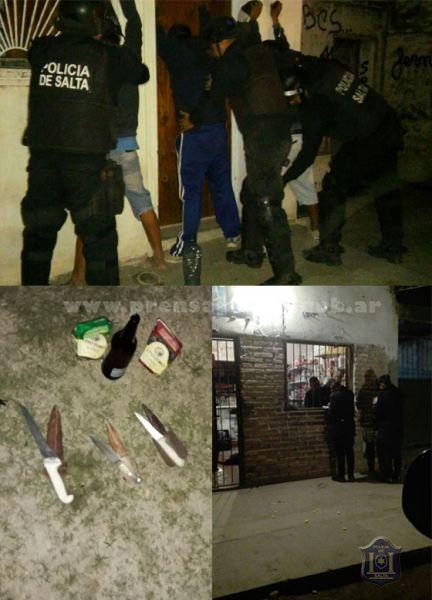 La Policía informó que entre los centenares de detenidos en Orán 31 personas registraban delitos penales.