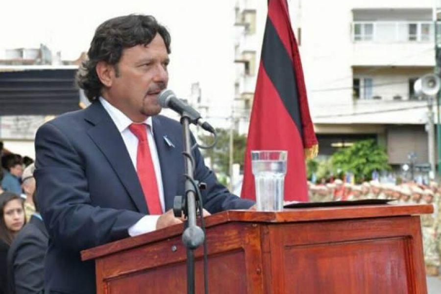 """El intendente Gustavo Sáenz, dijo """"no se le permitirá a la empresa Premoldeados Norte continuar con la segunda etapa del Corredor de la Fe."""