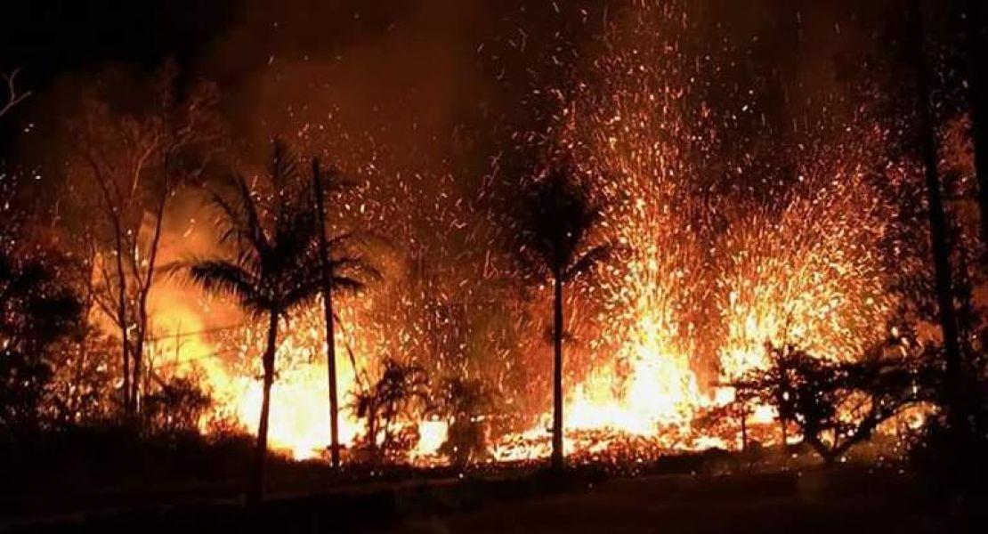 En Hawái más de 1.700 personas debieron ser evacuadas entre el sábado y el domingo, y varias viviendas resultaron destruidas.