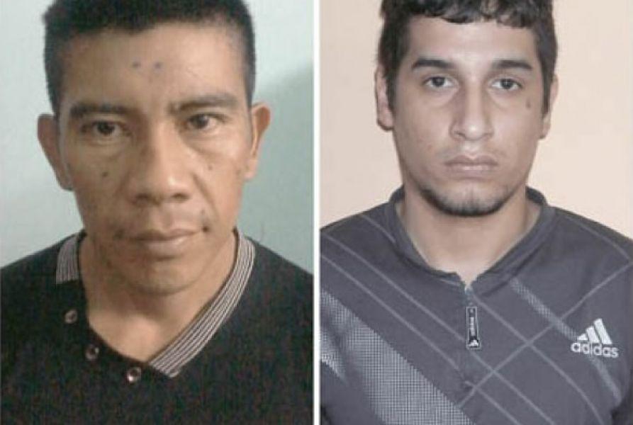 Santos Daniel Bulacia, condenado a perpetua por homicidio y Luis Miguel Herbas, condenado por robo, se fugaron del penal de Tartagal.
