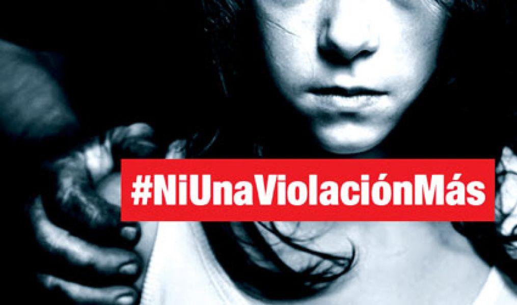 Mujeres de Anta protestan contra la violencia y crímenes sexuales