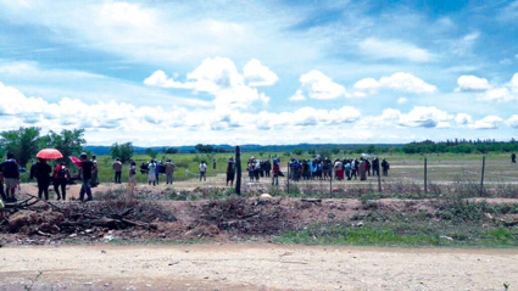 La justicia desbarató el intento de usurpación de terrenos en la ciudad norteña de San Ramón de la Nueva Orán.