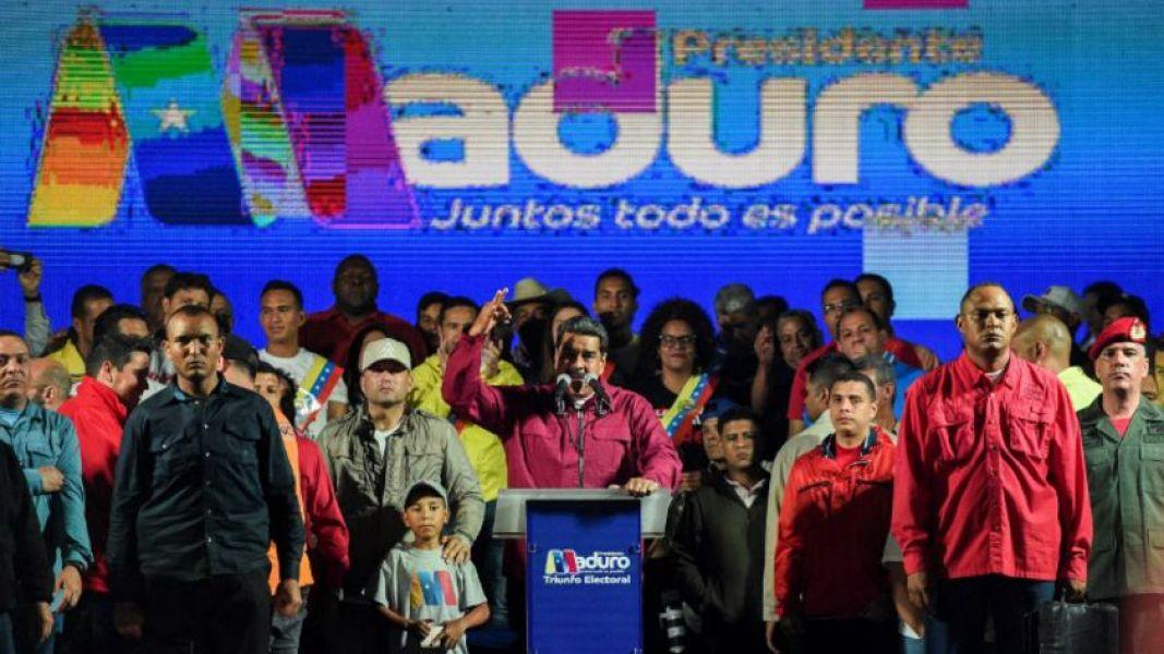 El líder chavista se impuso en as elecciones presidenciales de Venezuela.