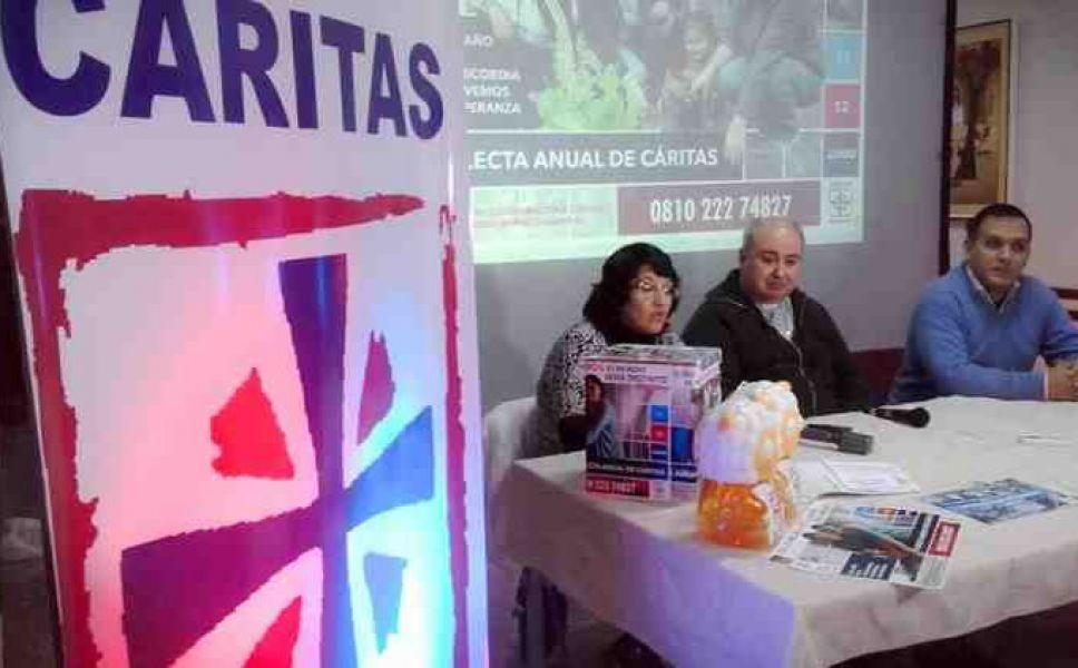 Caritas Salta realizará el lanzamiento de las dos jornadas de colecta, mañana sábado en la Plazoleta IV Siglos.