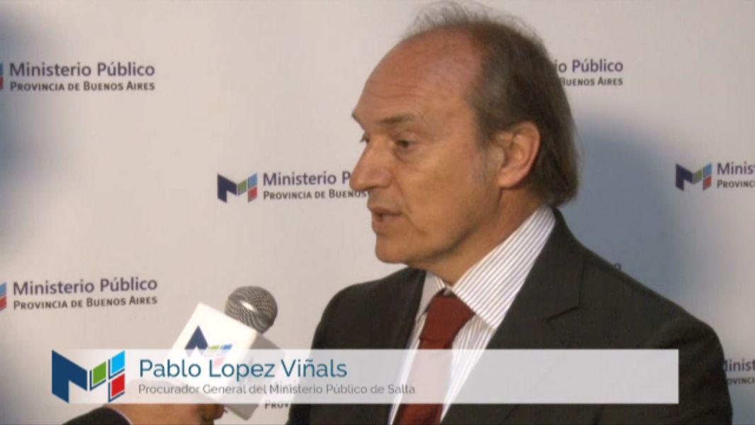 Pablo López Viñals, Procurador de la provincia fue invitado por el Ministerio de Justicia de la Nación a disertar sobre narcotráfico.