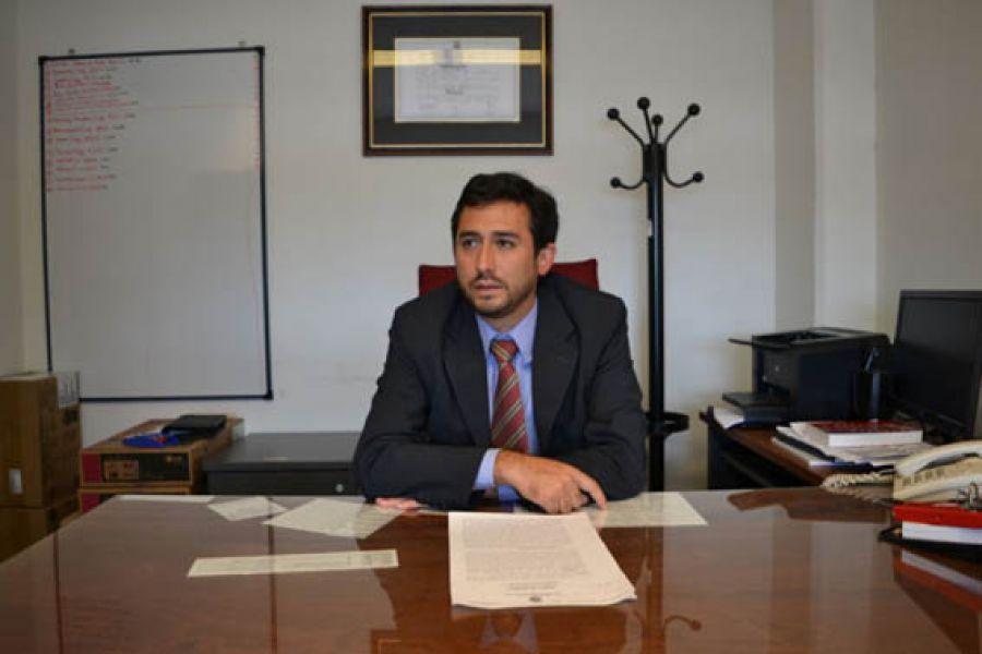 Fiscal Penal Pablo Rivero investigó el caso de homicidio contra Jorge Damián Toconás de 24 años.