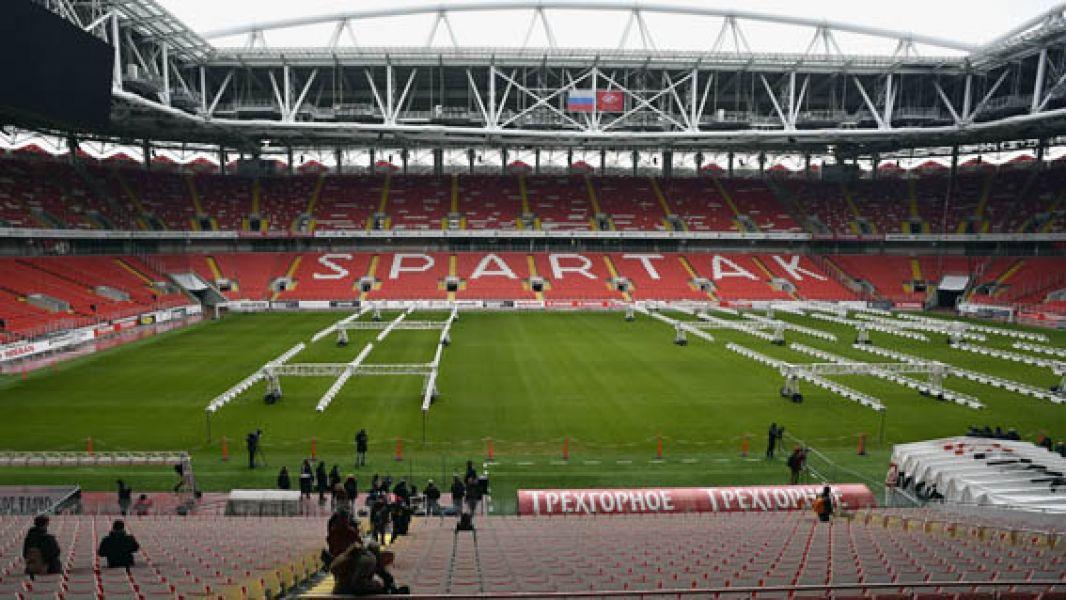 El escenario es dominio del Spartak.