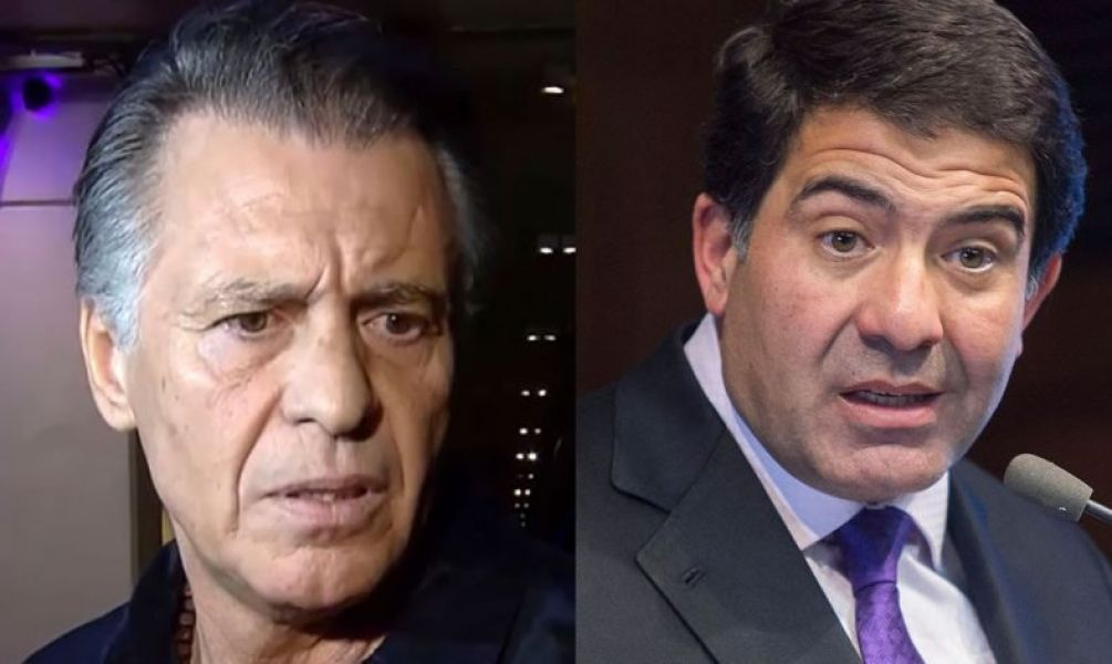 Cristóbal López y Ricardo Echegaray. El juez Ercolini elevó a juicio la causa por la deuda con la AFIP.