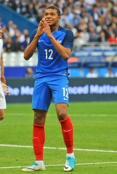 Kylian Mbappé, Francia.