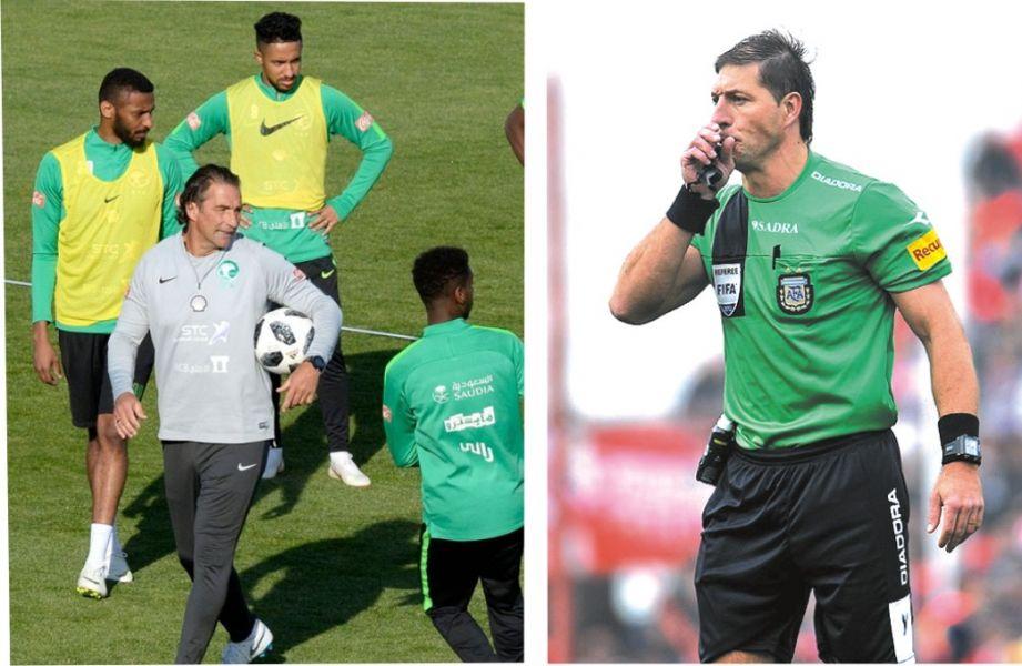 Juan Antonio Pizzi dirigirá el seleccionado de Arabia y el réferi Néstor Pitana, dirigirá el partido inaugural.