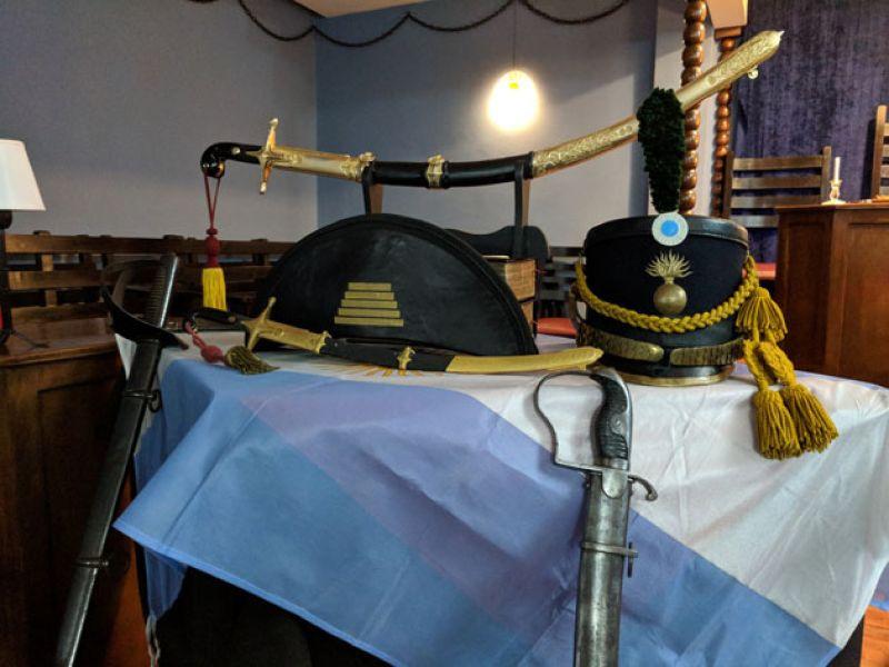 El Sable Corvo, la reliquia que perteneció a San Martín, Padre de la Patria.