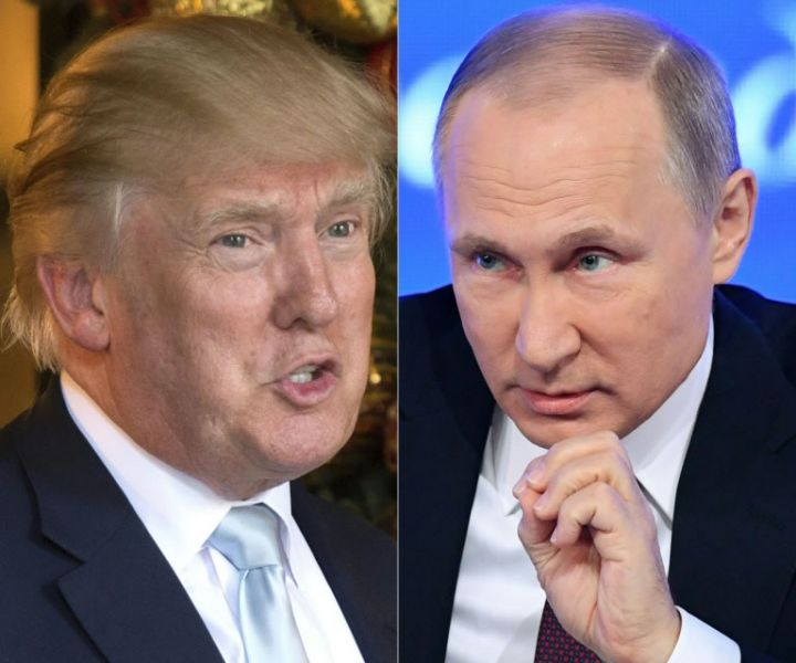 Los presidentes estadounidense, Donald Trump y el ruso Vladimir Putin, en un nuevo intento por reactivar las relaciones entre las dos potencias.