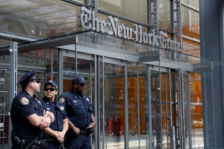 Vigilan los periódicos del Estado Unidos. El tiroteo ocurrió sede del diario Capital Gazette en la ciudad de Annapolis, Maryland.