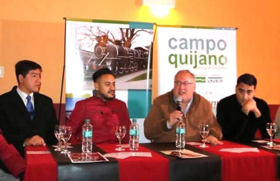 El intendente Cornejo anunció que el domingo 8 y lunes 9 de julio en Quijano se podrá disfrutar de dos festivales musicales, ferias y desfile patrio.