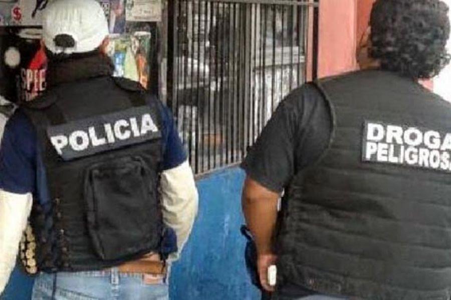 Varios allanamientos se produjeron en la Provincia en un operativo antidrogas en el que se secuestraron miles de dosis de marihuana.