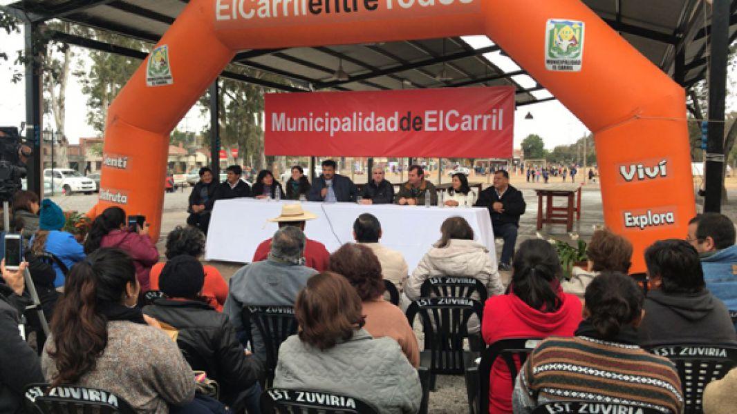 El concurso para el 5° Festival del Locro está en marcha en El Carril y el domingo 8 de julio la familia podrá elegir el mejor locro.