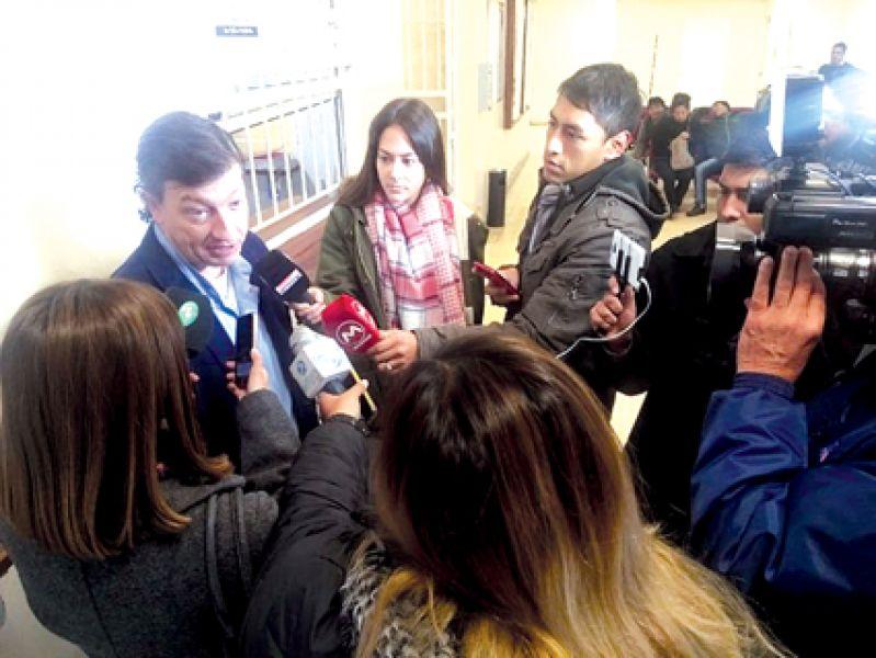 """""""La actividad sexual mejora"""", dijo sobre la vasectomía, Juan José Pisani del Servicio de Urología del Hospital San Bernardo."""
