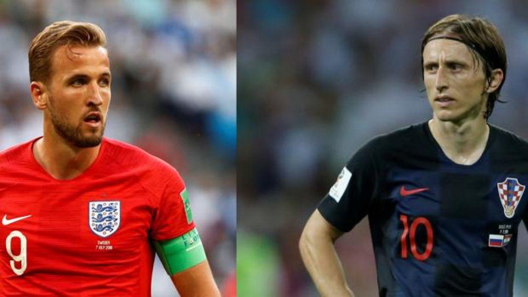 Harry Kane, la presencia del gol en Inglaterra y Luka Modric, marca y despliegue en Croacia.