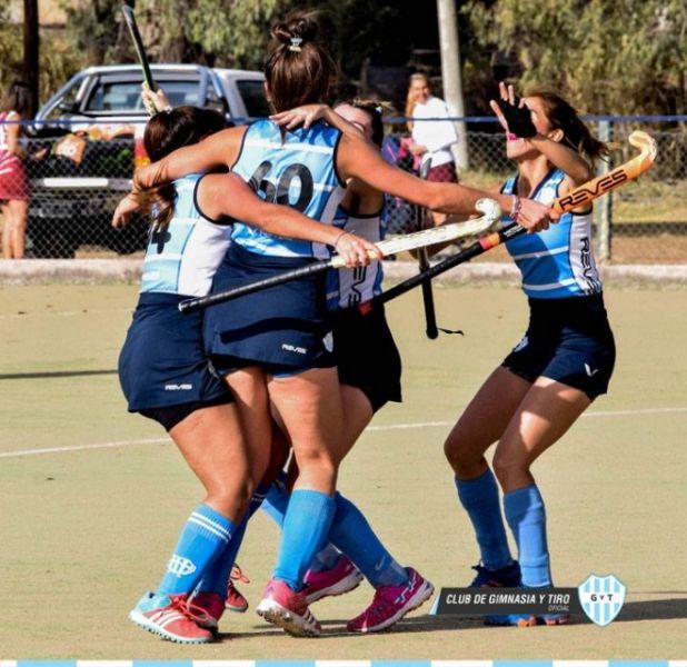 Las chicas de Gimnasia lideran en Primera A del hockey.