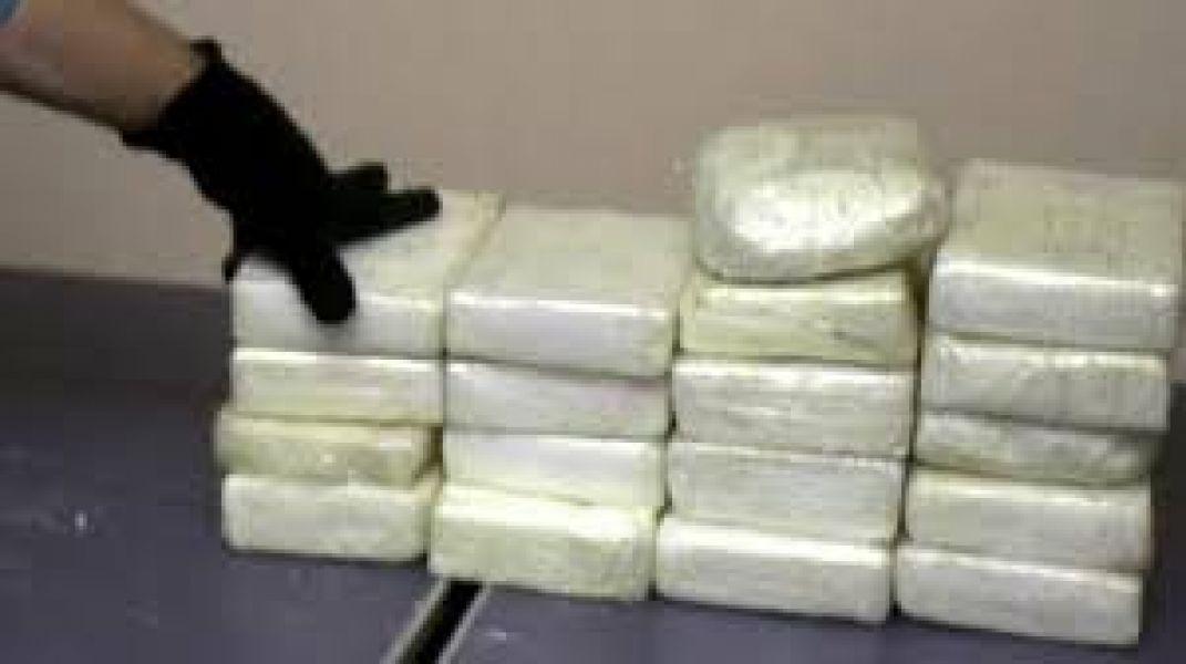 68 paquetes de cocaína secuestrados en finca Palermo