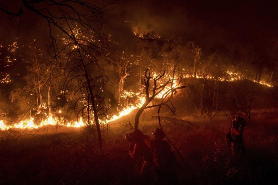 El incendio es el mas grande registrado en los últimos tiempos