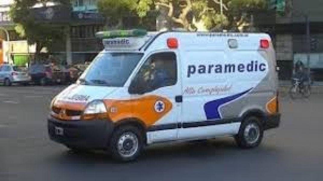 El servicio de ambulancias de Paramedic cuestionado por beneficiarios del PAMI por deficiente, especialmente en horario nocturno.