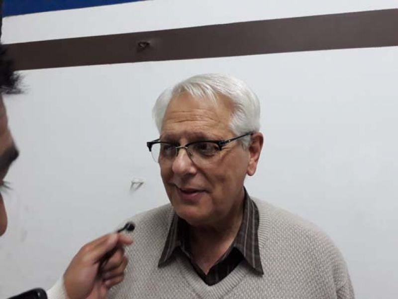 Daniel Domínguez, presidente en ejercicio de Juventud Antoniana.