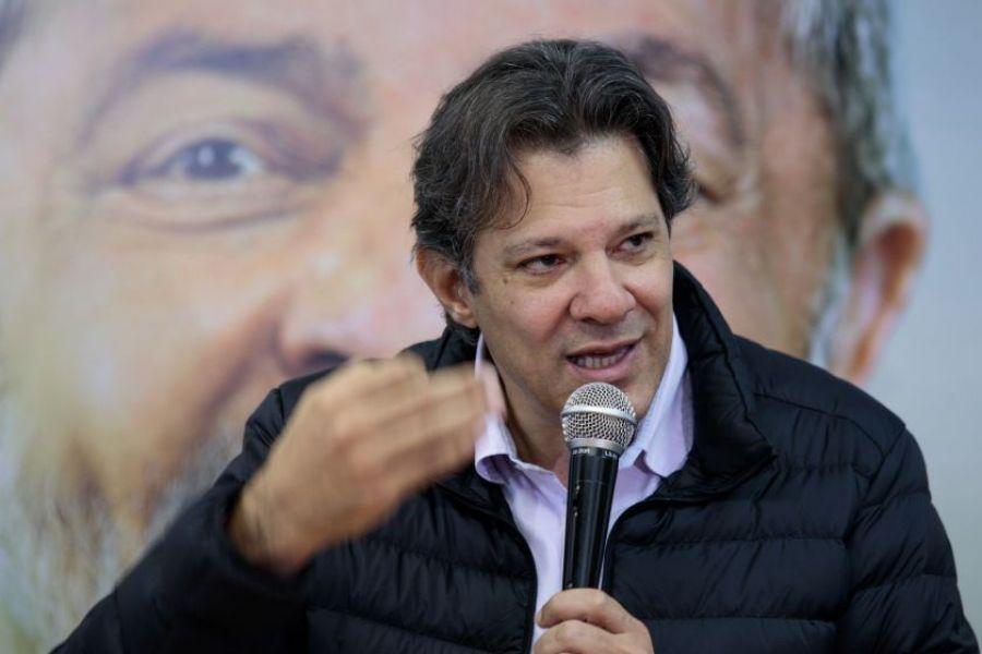 Fernando Haddad, nuevo candidato del Partido de los Trabajadores