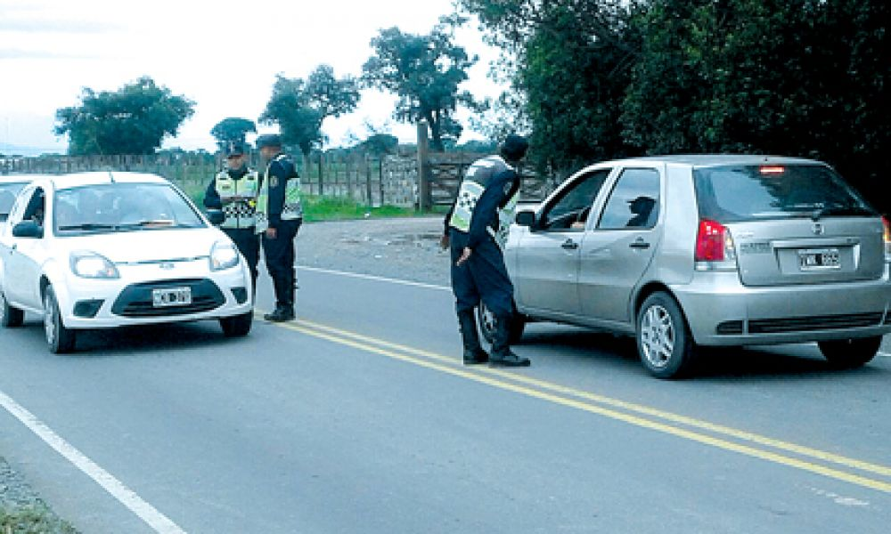 El fin de semana último se llegó a controlar a 12.600 vehículos de los cuales se detectó 122 conductores ebrios.