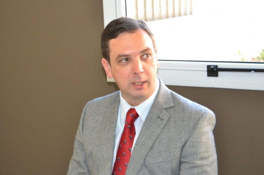 Fiscal de Rosario de la Frontera, Oscar López Ibarra.