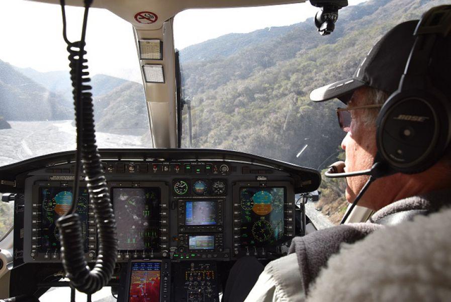 Se realiza la búsqueda vía aérea del turista francés en suelo salteño.