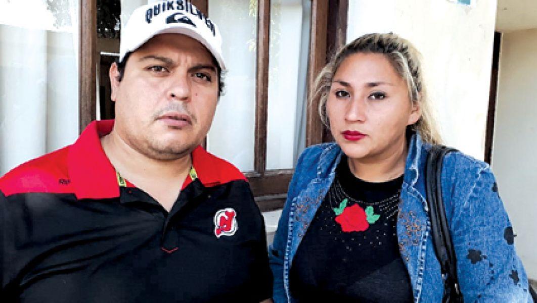 Gonzalo Cuello y Jimena Guerrero.