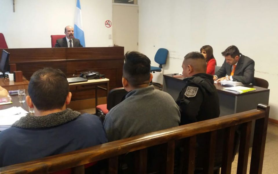 """El juez Francisco Mascarello preside el Tribunal que enjuicia a los dos policías por el caso de """"gatillo fácil""""."""