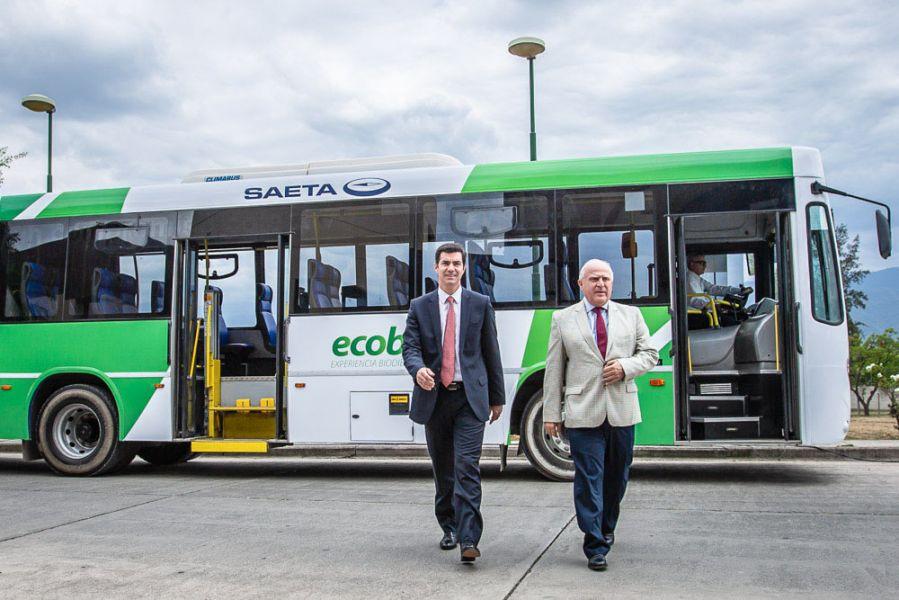El proyecto biodiesel Eco Bus Salta implicará un ahorro 2,5 millones de pesos por mes.