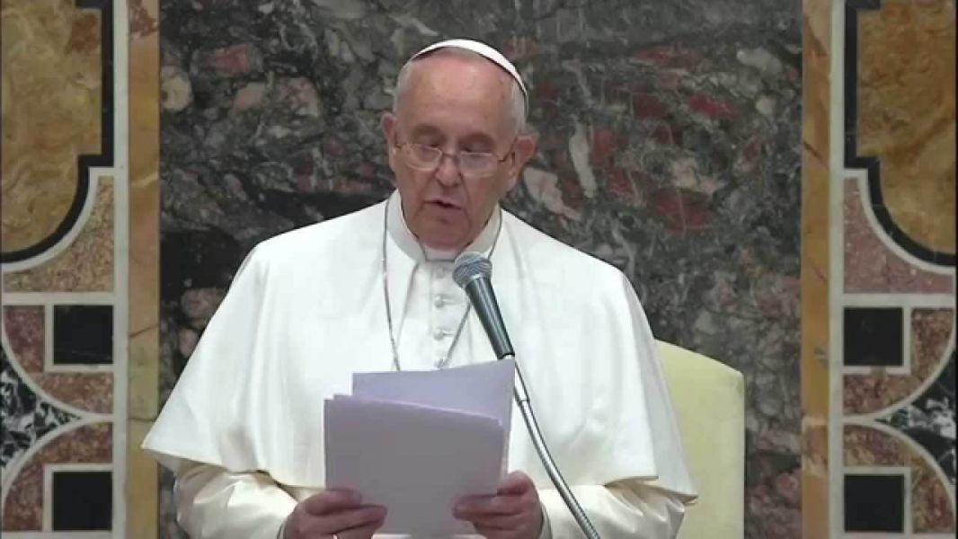 """Papa Francisco: """"Quiero que renovemos todo nuestro empeño para que estas atrocidades no vuelvan a suceder entre nosotros""""."""