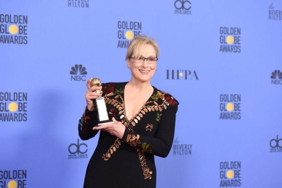 Meryl Streep recibió el Globo de Oro a trayectoria y fue ovacionada por su mensaje político contra Trump, aunque no lo nombró.