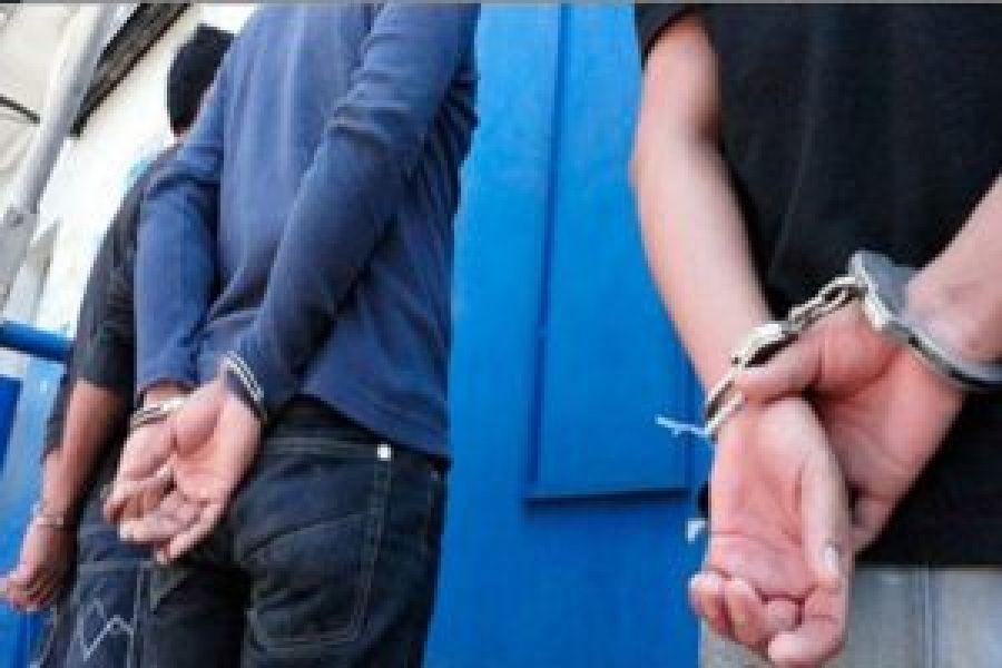 El acusado Jairo Aguero, fue detenido en la terminal de ómnibus cuando estaba a punto de fugarse
